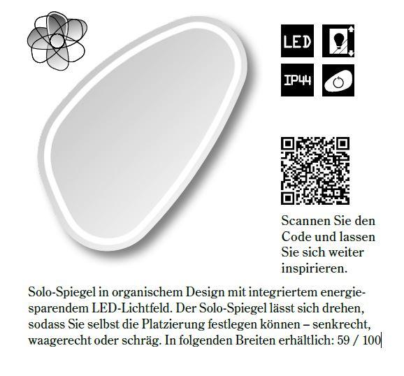 ... Spiegel Solo mit integrierter LED-Beleuchtung - Ihr Fachhandel für