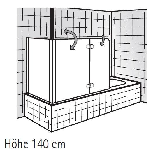 Badewanne duschwand bauhaus das beste aus wohndesign und for Badewannenspritzschutz