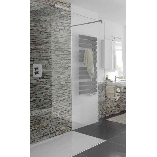 dusche glaswand mit bild verschiedene. Black Bedroom Furniture Sets. Home Design Ideas