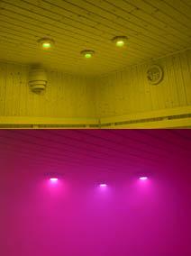 wellness produkt led farblichtger te colordreams colordreams farblichtspots. Black Bedroom Furniture Sets. Home Design Ideas