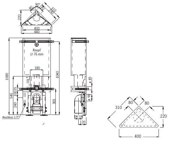 wellness produkt selbstbauprogramm grumbach grumbach eck wc stein pneumatik. Black Bedroom Furniture Sets. Home Design Ideas