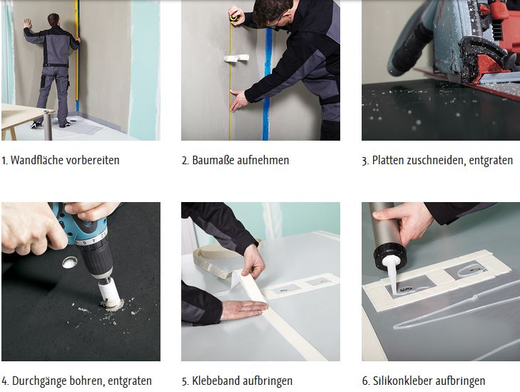 Dusche Glaswand Kalk : wellness-edition.com – Produkt: – Wandverkleidung – HSK – HSK RenoDeco