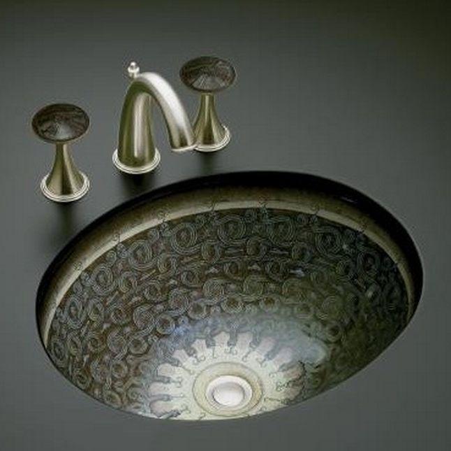 wellness produkt waschtische und schalen kohler kohler serpentine bronze. Black Bedroom Furniture Sets. Home Design Ideas